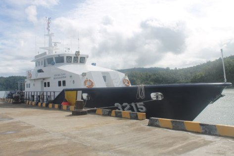 Kapal Hiu 3215 (Istimewa)
