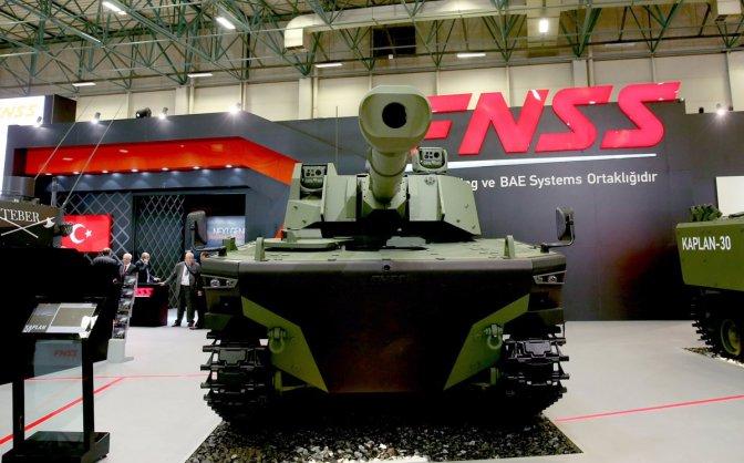 Kaplan MT, Medium Tank FNSS-Pindad (video)