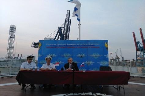 Komandan kapal perang Varyag, Alexei Ulianenkov. (Sindonews)