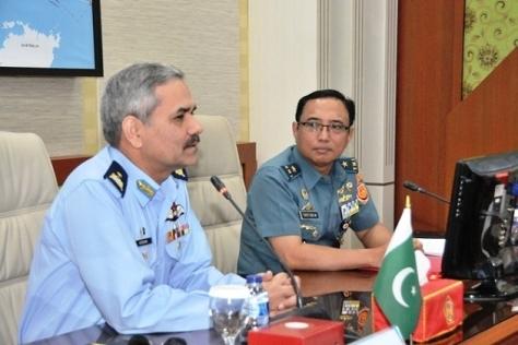 Kunjungan Delegasi Pakistan Air War College (Puspen TNI)