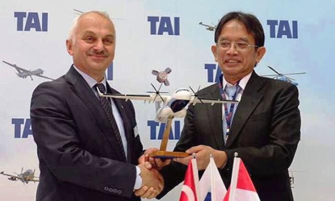 PTDI dan Turkish Aerospace Industries Kerjasama Pengembangan Pesawat