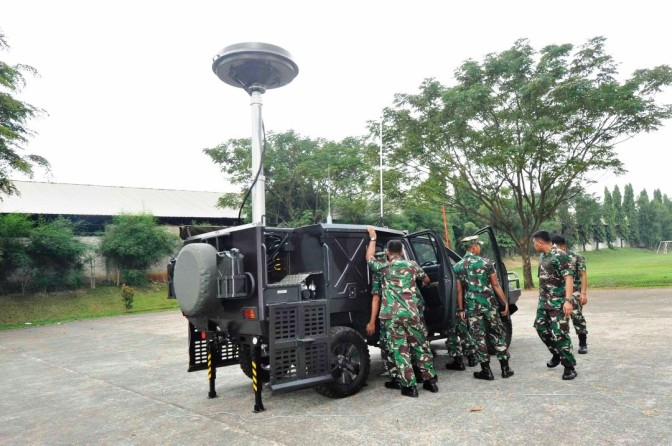 Radio DDF 550 Siap Dukung Electronic Warfare Korps Marinir