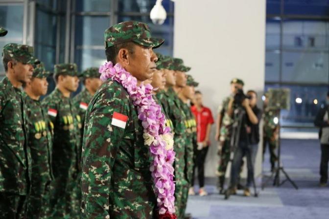 Tim Petembak TNI AD Tiba di Indonesia