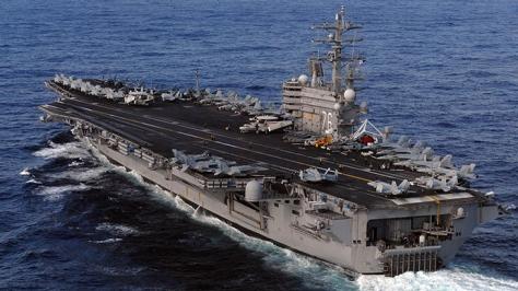 USS Ronald Reagan (Istimewa)