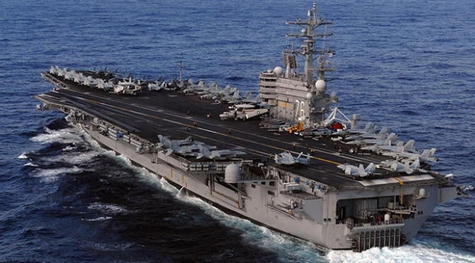 USS Ronald Reagan dan George Washington Tak  Langgar Aturan Ketika Memasuki Perairan RI