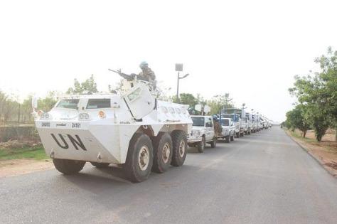 Anoa 2 Satgas Yonkomposit TNI Konga XXXV-C Unamid. (TNI)