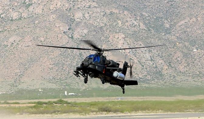 Angkatan Darat AS Uji Senjata Laser pada AH-64 Apache