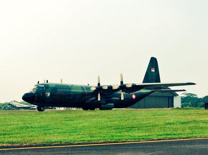 Hercules TNI AU Kembali ke 'Home Base'