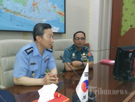 Delegasi Joint Staff College Republik Korea Kunjungi Mabes TNI. (Pen TNI Tribunnews)