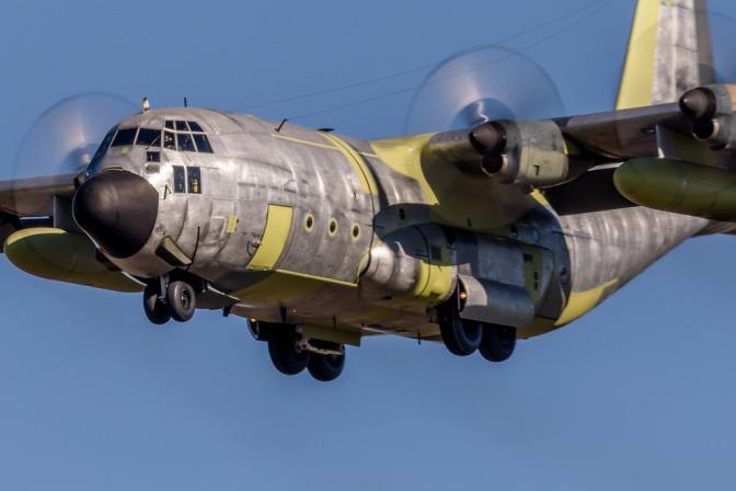 Hercules A-1333 Jalani 'Test Flight'