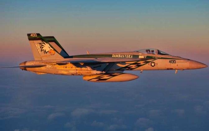 F-18 AS Tembak Jatuh Su-22 Suriah di Raqqa