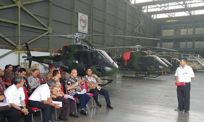 PT DI Sedang Merampungkan Perakitan Helikopter Fennec TNI AD