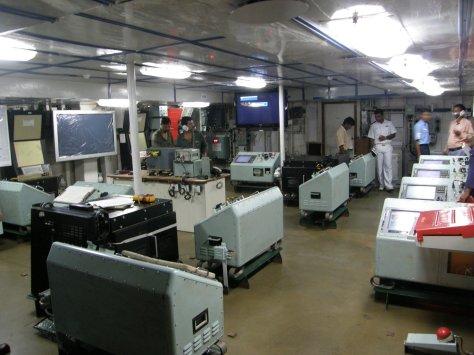 INS Shivalik Command Centre (Ajai Shukla)
