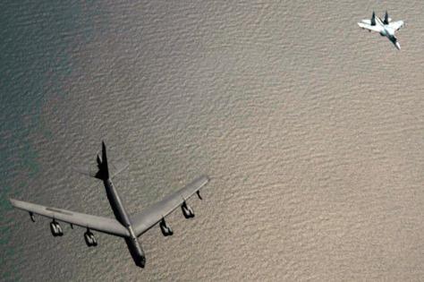 Jet Tempur Rusia Cegat Dua Bomber AS (istimewa)