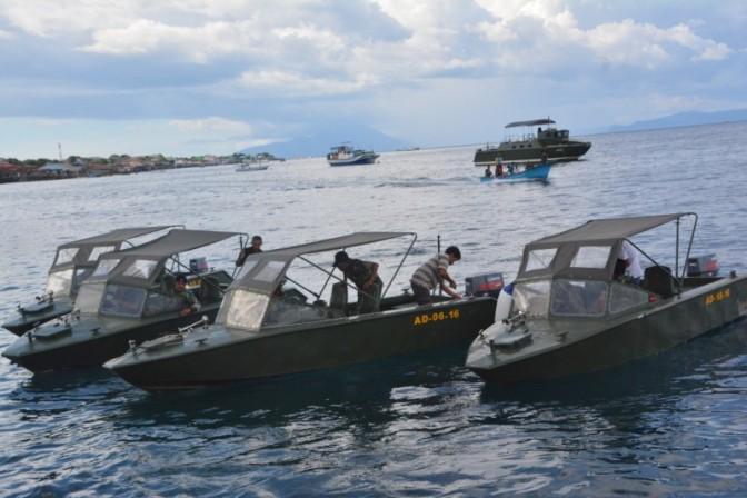 4 Unit Kapal Motor Cepat V7 dari Mabes Angkatan Darat