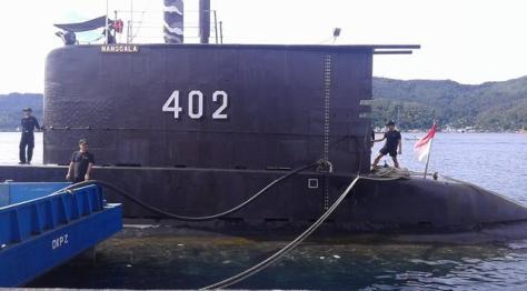 KRI Nanggala - 402 ikut jaga perairan Sulut-Filipina, Senin (19062017). (Liputan6)