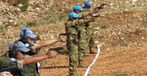 Marinir Raih Nilai Tertinggi Pada Intercontingen Shooting Championship. (Marinir)