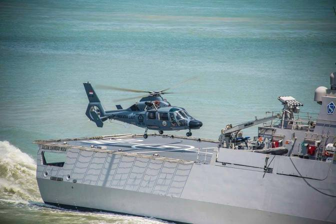 Helikopter ASW Panther AS565 MBE dalam Doktrin ASW TNI AL