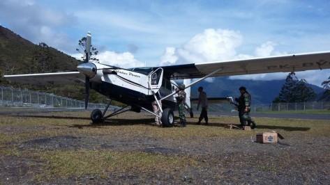 Pesawat Susi Air Ditembak di Puncak Jaya. (Istimewa)