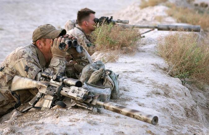 Sniper Kanada Tewaskan Anggota ISIS dari Jarak Hampir 3,5 km