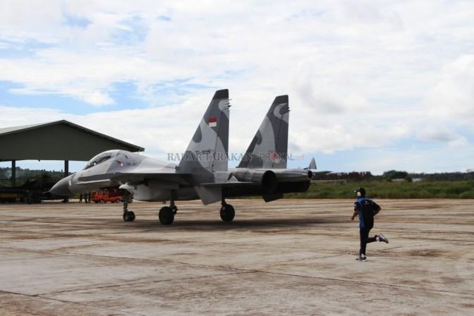 Pengamanan Perairan Sulu Libatkan Sukhoi TNI AU