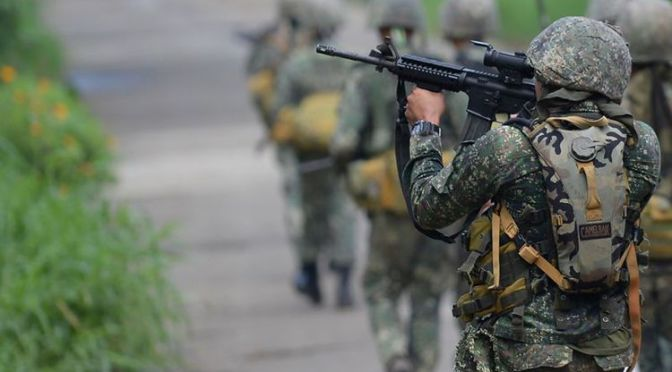 Pimpinan Abu Sayyaf dan Maute Tewas di Marawi