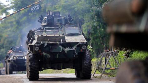Tentara Filipina di Marawi (Reuters) 1