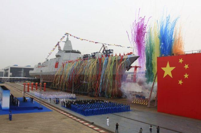 Militer China Luncurkan Kapal Perusak Generasi Baru