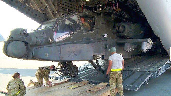 Menunggu Kiriman Helikopter Apache