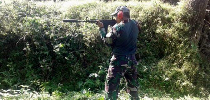 Dislitbangal Uji Coba Gun Fire Lokator di Yogyakarta