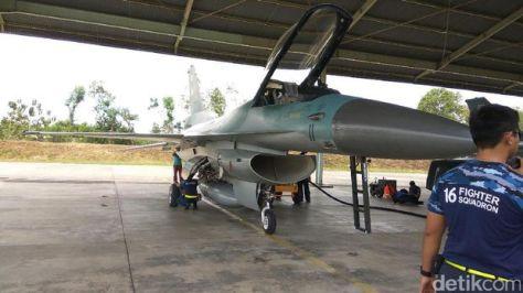 F-16 akan berpatroli di Aceh. (Detik) 1