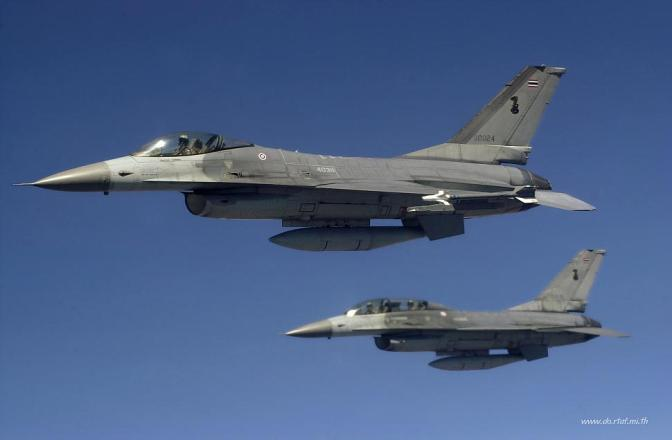 TNI AU Gelar Latihan Perang Udara dengan RTAF Thailand