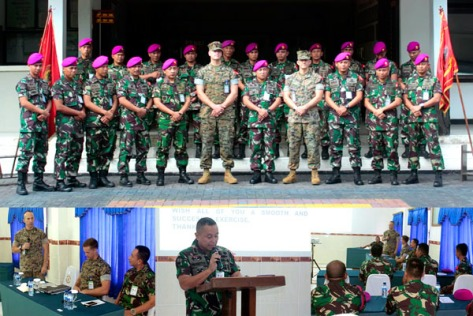 Marinir Indonesia dan Amerika Serikat