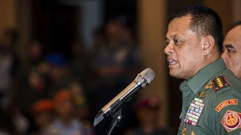 Panglima TNI Jenderal Gatot Nurmantyo (CNN)
