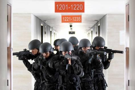 Prajutit TNI AL Perang Kota 1