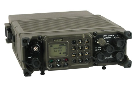 PRC VRC-9661 VHF UHF Software Defined Radio (Military) 1
