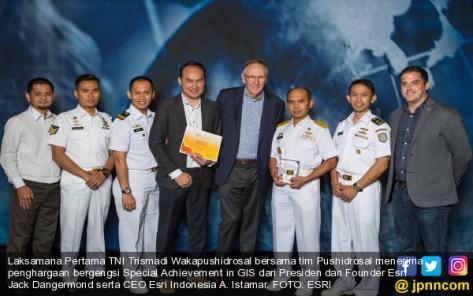 Pusat Data TNI AL raih penghargaan internasional. (JPNN)
