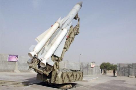 Rudal Sayyad 3 milik Iran. (Istimewa)