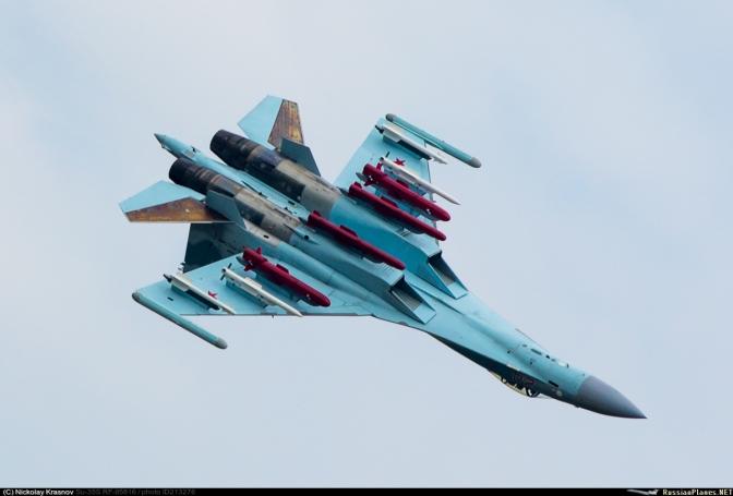 Rusia Beri Diskon Persenjataan untuk Sukhoi Su-35 Indonesia