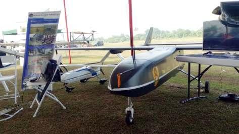 Uji coba Drone Elang Laut di Lapangan Terbang Pustekroket Rumpin, Kabupaten Bogor. (defence.pk). 1