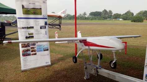 Uji coba Drone M3 LSU 03 di Lapangan Terbang Pustekroket Rumpin, Kabupaten Bogor. (defence.pk). 1