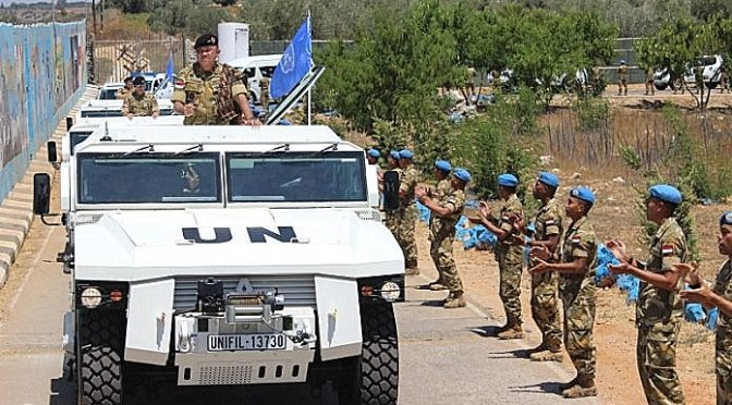 Asops Panglima TNI Kunker Ke Markas Indobatt Konga XXIII-K/Unifil di Lebanon