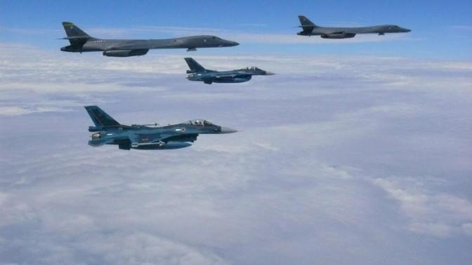 Korut Ancam Serang Guam, Pesawat Tempur AS Unjuk Kekuatan