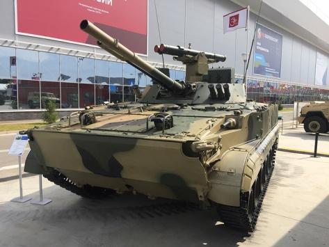BMP-3M dengan PTUR Ataka (TASS)