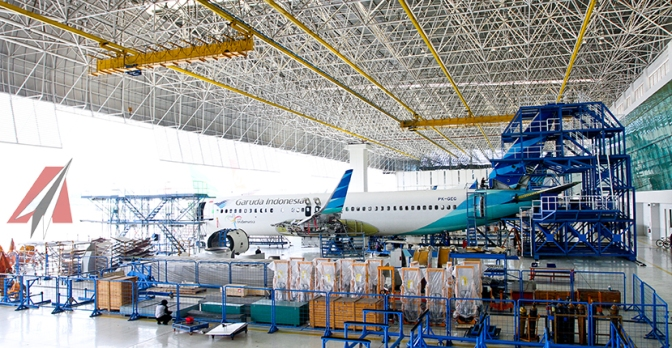 Indonesia Servis Hub Akan Garap Pesawat Militer Airbus
