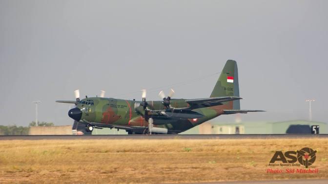 Hercules A 1336 Jalani Uji Terbang di Darwin (Photo)