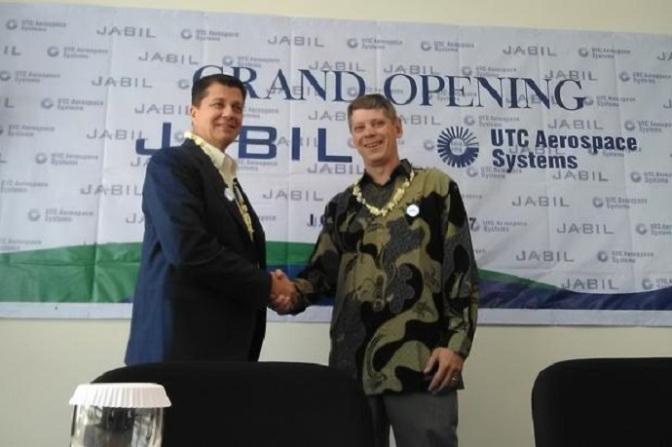 Jabil dan UTC Aerospace Systems Mulai Beroperasi di Indonesia
