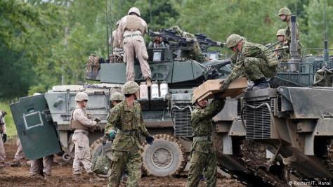 Japan Eniwa Northern Viper 17 Übung USA Japan (Reuters-T. Hanai) 2