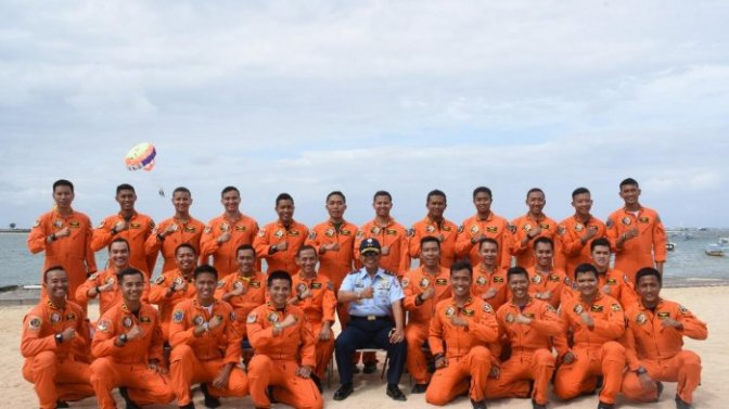 Koopsau II Latih Pilot Pesawat Tempur Menggunakan Kursi Lontar