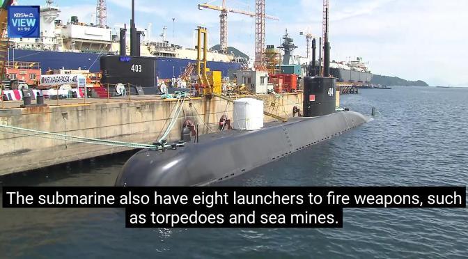 Kapal Selam DSME Type 209/ 1400 Indonesia (Video)